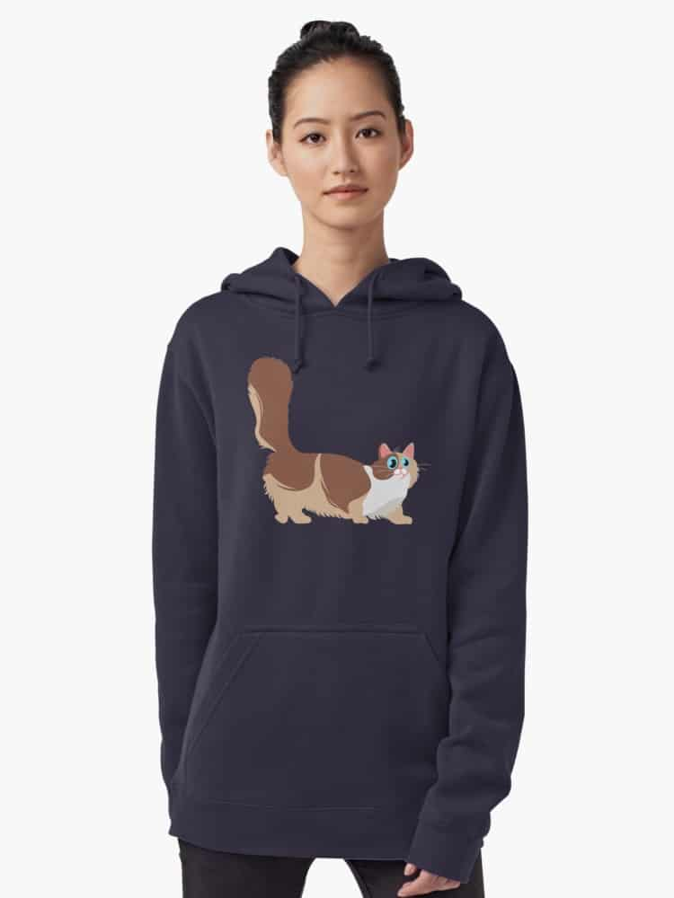 Adorable Munchkin Cat Gifts: Stay warm in style this fall with our favorite hoodies for cat lovers! From adorable munchkin cat sweatshirts to hilarious quotes for all cat people, you'll love our selection!