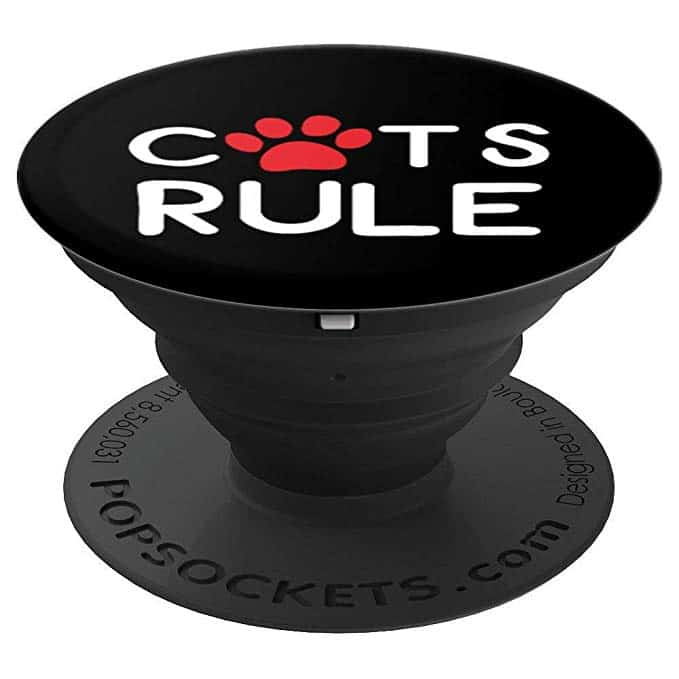 Cats Rule PopSockets Phone Grip