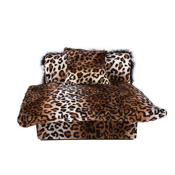 Keet Mini Bed Leopard Pet Bed