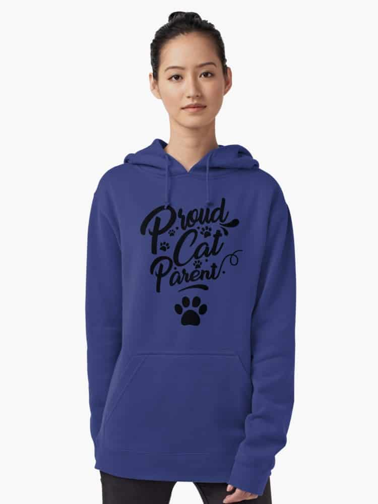 Proud Cat Parent Collection: Stay warm in style this fall with our favorite hoodies for cat lovers! From adorable munchkin cat sweatshirts to hilarious quotes for all cat people, you'll love our selection!