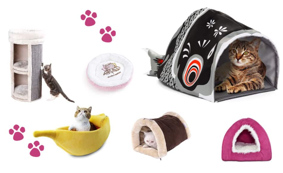 43 Cool Modern Fancy And Fab Cat Beds Your Feline Decor Will Love Catvills