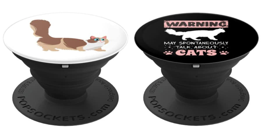 15 Adorable PopSockets for Cat Lovers That Make Great Stocking Stuffers!