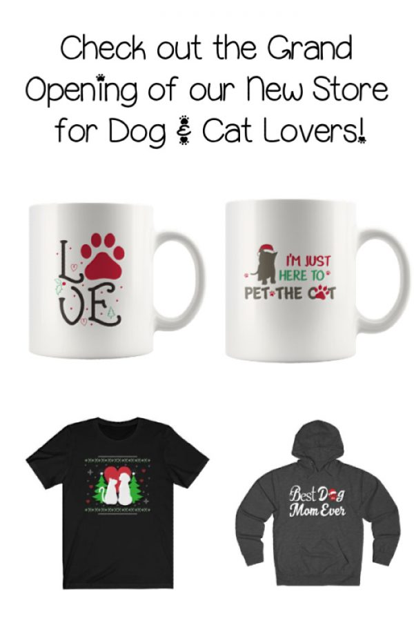 We are so excited to announce the launch of our brand new store for cat and dog lovers! If you're looking for amazing gift ideas for all your favorite pet parents, you have to check it out.