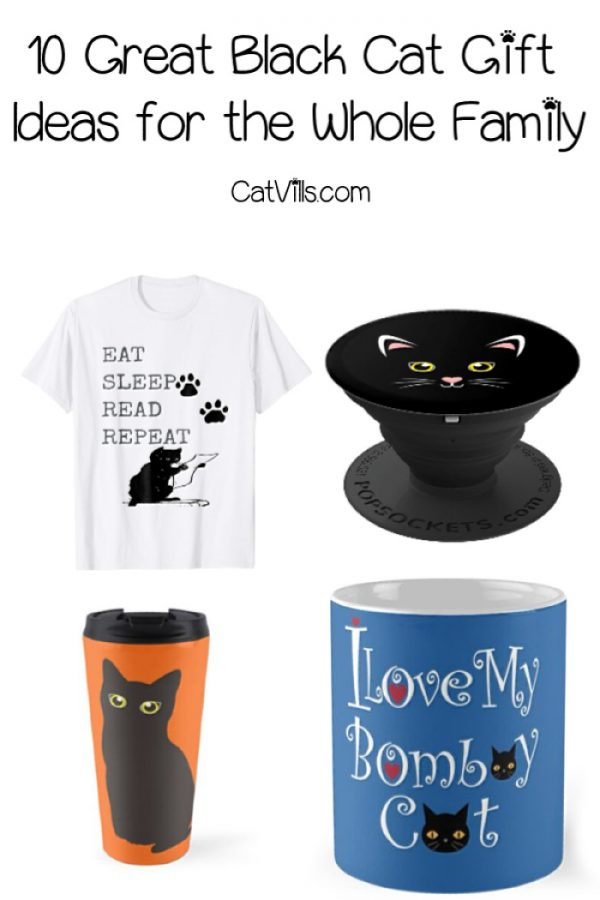 Looking for some adorable black cat gift ideas for everyone in your family? Check out my top ten favorites, from PopSockets to shirts & more!