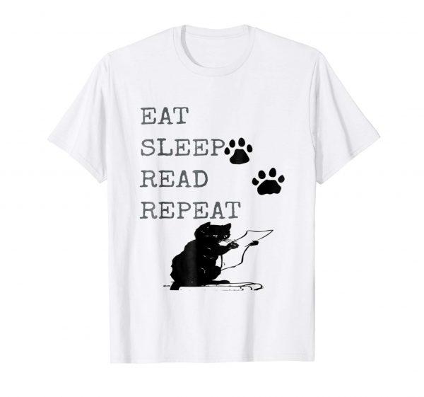 Black Cat Gift Ideas: Eat, Sleep, Read, Repeat