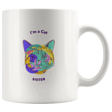 Cat Sister Coffee Mug