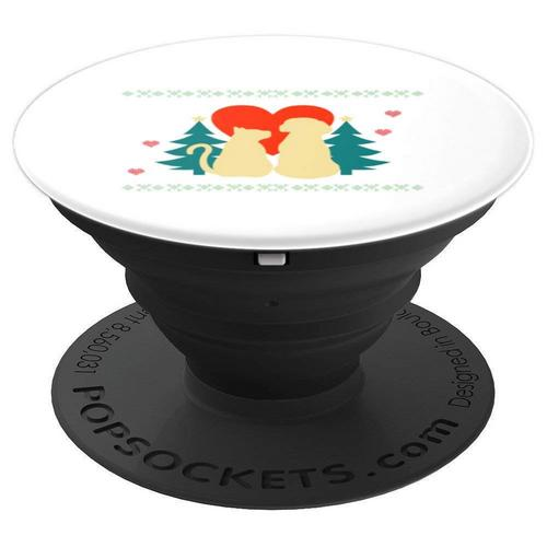 If you need stocking stuffer ideas, try these cool Christmas Cat PopSockets on Amazon! They're perfect for all ages from teens to grandparents!