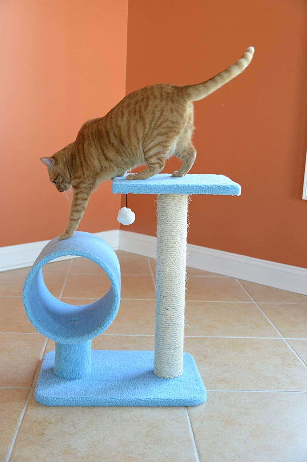Best Compact Cat Tree: Armarkat B2501 Cat Tree