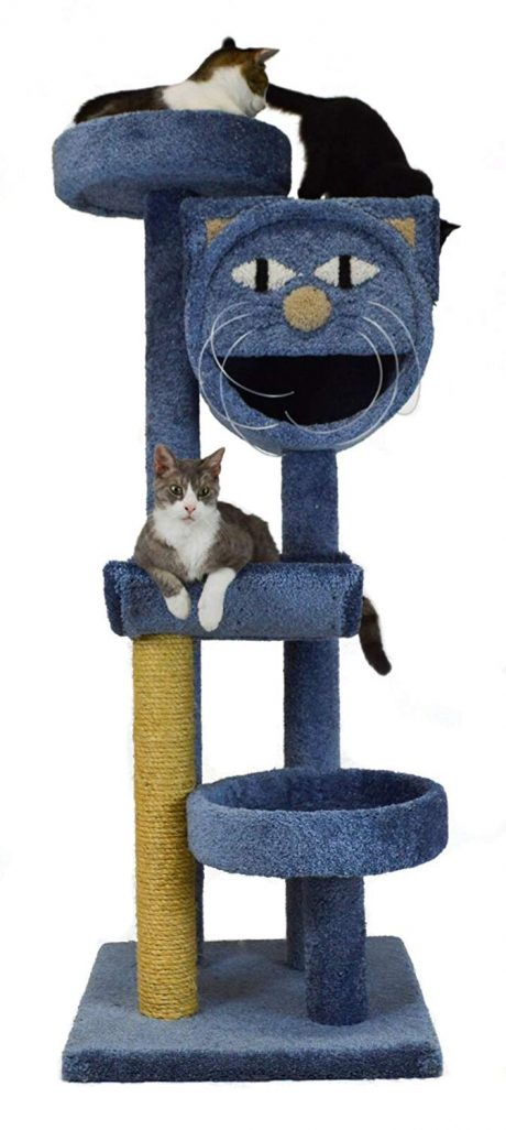 Molly and Friends Four-Tier Scratching Post Furniture