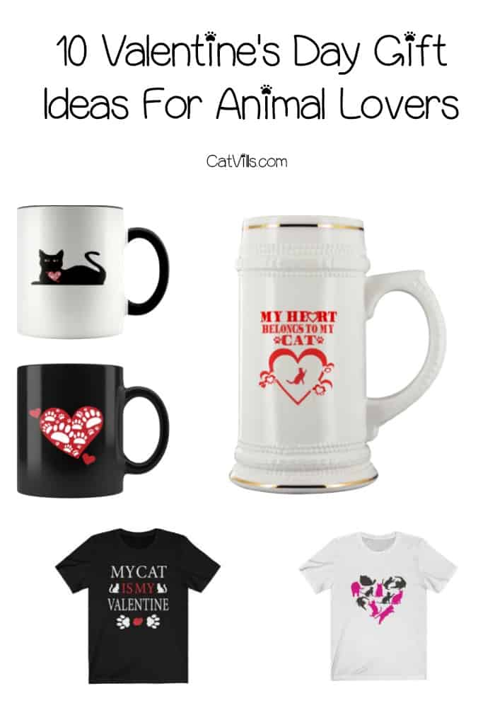 Need cute dog and cat gifts? Cupid called and said you just have to check out these 10 Valentine's Day gift ideas for animal lovers!