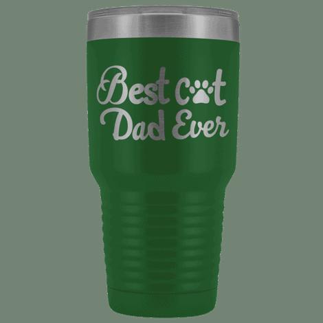 Best cat dad ever travel mug