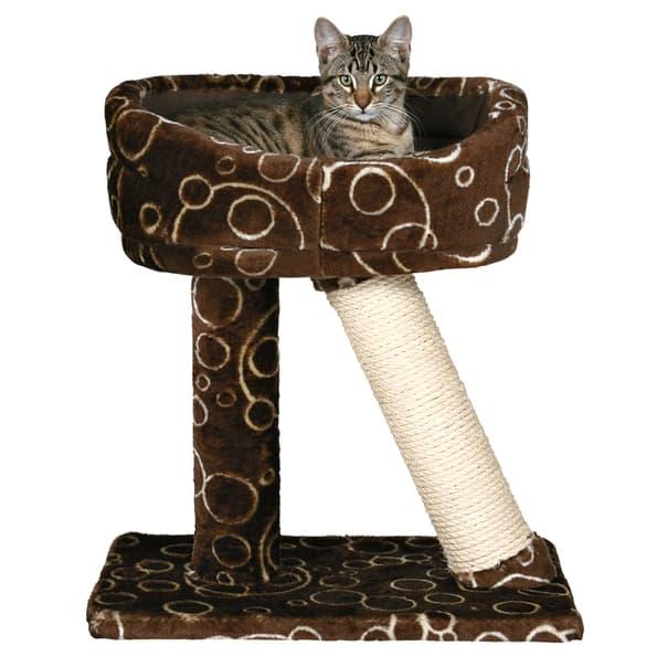 Callista Cat Sky Bed Cat Tree with Bed