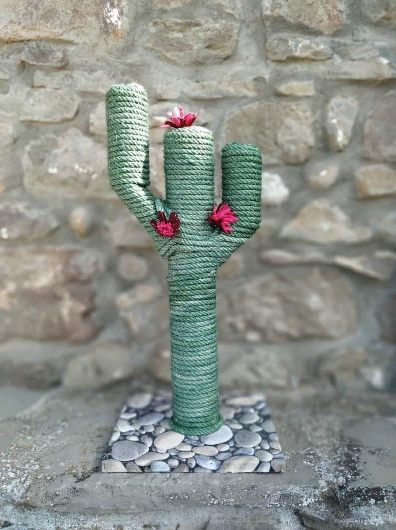 CreacionesLaLuna Cat Cactus