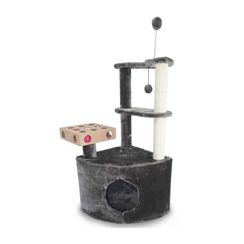 Home Base Playground Corner Cat Tree