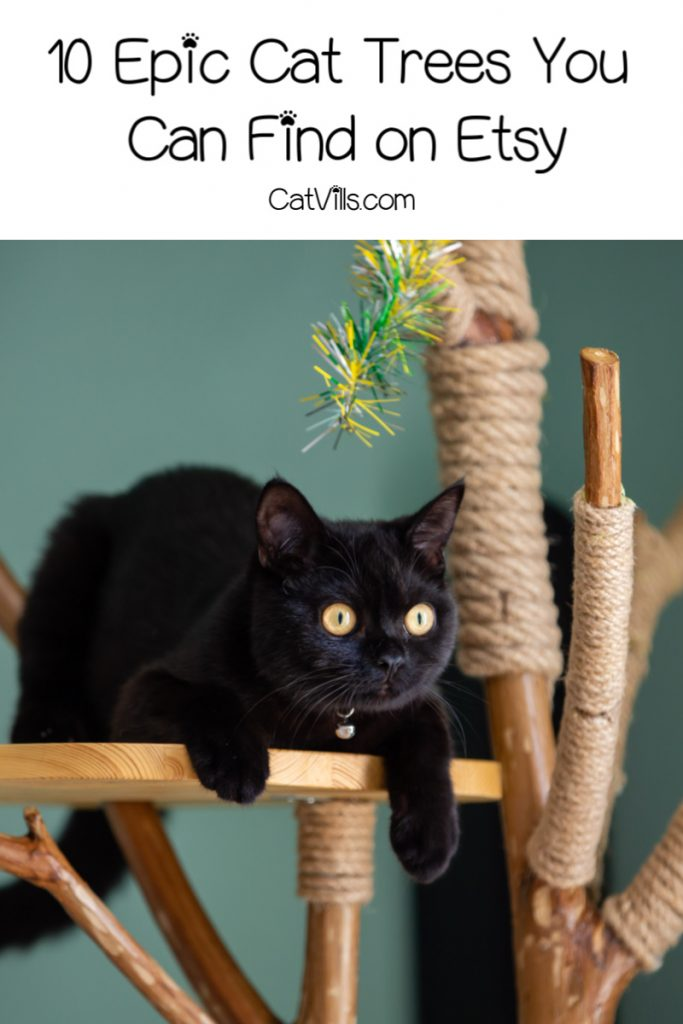 If you're curious about the best Etsy cat trees, let me help you out. From space-saving modular to sleek modern trees, these 10 are my favorites!