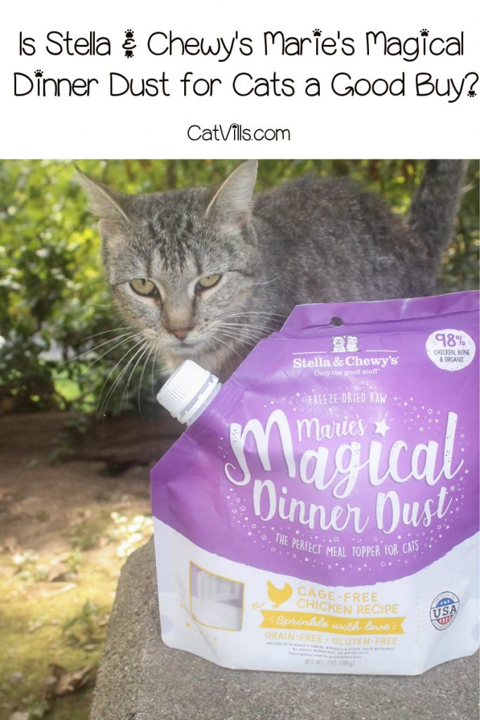 Wondering if Stella & Chewy's Marie's Magical Dinner Dust for cats is worth checking out? Check out our complete review to find out!