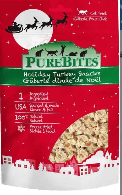 PureBites Holiday Turkey Freeze-Dried Cat Treats