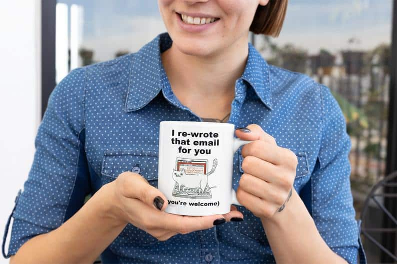 Funny Coffee Mug cat-themed gifts for him