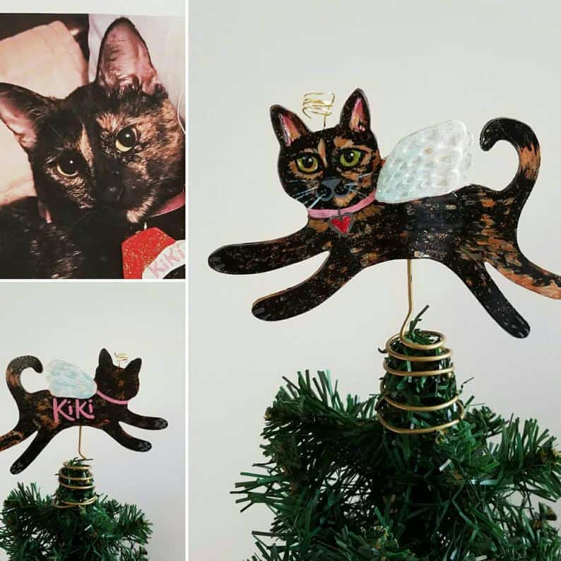 Personalized Cat Tree Topper