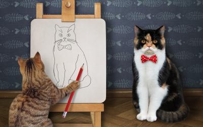 Artsy Cat Names: 100 Creative Names