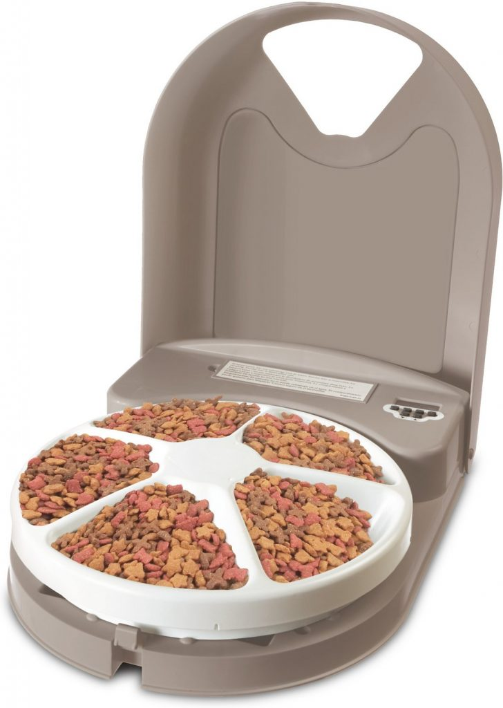 PetSafe Eatwell 5-Meal Automatic Dog & Cat Feeder By PetSafe
