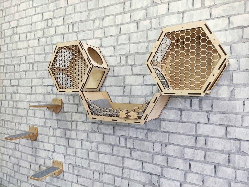 brown Cat wall furniture