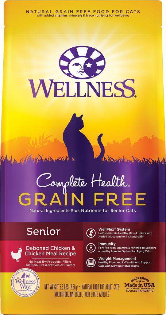 wellness grain-free cat food