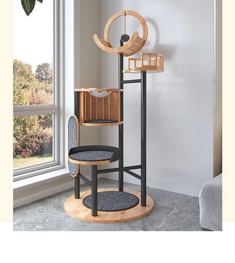 Tbutterflies Luxury Cat Tree Tower